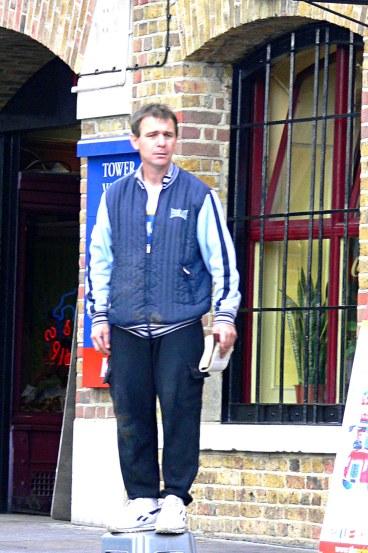 street preacher in London